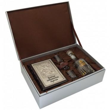 """Подарочный набор с алкоголем """"Святые покровители мужчин"""""""