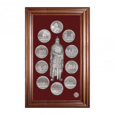 """Сувенир  """"Медали на княжение Великого князя Игоря"""""""