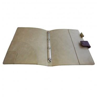 Кожаная папка для документов