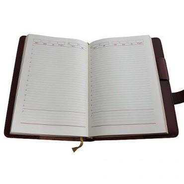 Кожаный ежедневник Софийский Собор Коричневый